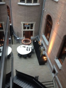 Conservatorium hotel - reception area