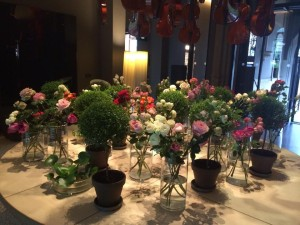 Conservatorium hotel - flower decor