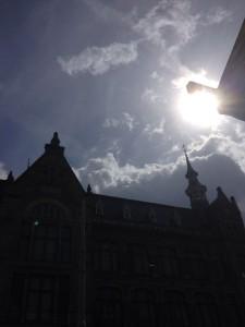 Amsterdam sky