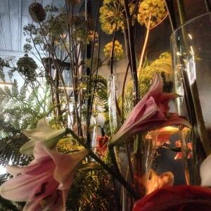 Conservatorium hotel - flowers