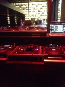 Tunes bar DJ stand
