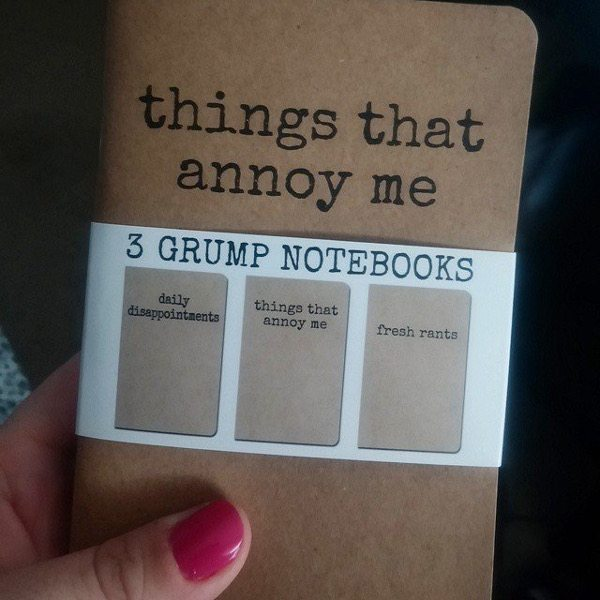 grumpy notebook
