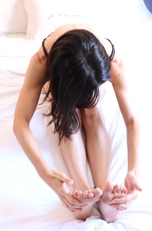 bedtime yoga