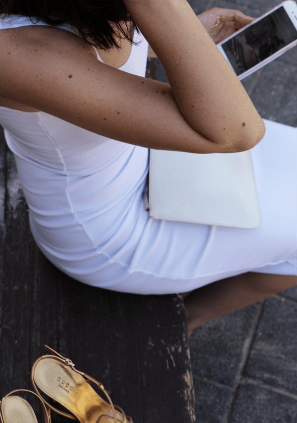 hot white dress 1