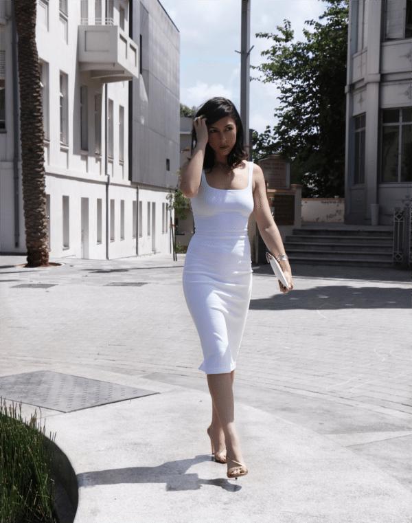 hot white dress 4