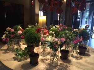 Conservatorium hotel - flower decor