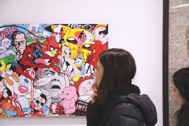 saatchi gallery london 2