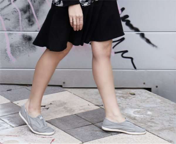 cute dress and sneakers5